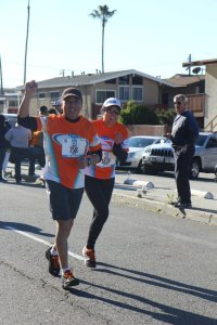 Pastor Albert running for charity